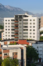 Condominium modern in monterrey mexico Royalty Free Stock Photo