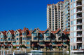 Condominiums in Kelowna Royalty Free Stock Photo