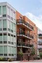 Condominiums contemporary in downtown denver colorado Stock Images