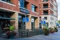 Condominiums denver colorado usa august contemporary at riverfront development in denver colorado Stock Photography