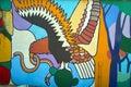 Condor mural Royalty Free Stock Photo