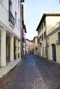 Conegliano city Royalty Free Stock Photo