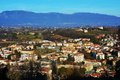 Conegliano city, view from the Castello Royalty Free Stock Photo