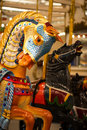 Coney Island Carousel Horse Royalty Free Stock Photo