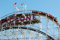 Coney Island Cyclone Royalty Free Stock Images