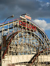 Coney Island Cyclone Royalty Free Stock Photos