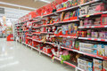 Confectionery at Coles supermarket Royalty Free Stock Photo
