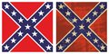 Confederate Battle Flag Royalty Free Stock Image