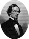 Confederate political leader Jefferson Davis Stock Photos