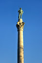 Confederate Soldiers` & Sailors` Monument Royalty Free Stock Photo