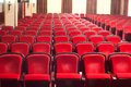 Conference hall big with numerous chairs Royalty Free Stock Images