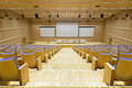 Conference room general view of empty modern Royalty Free Stock Images