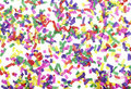 Confetti celebration new year festive Stock Images