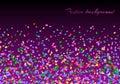 Confetti explosion backdrop