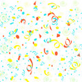 Confetti  gift bag Stock Images