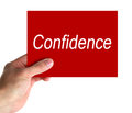 Confidence Royalty Free Stock Photo