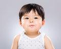 Confident baby Royalty Free Stock Photo