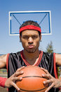 Confident Basketball Player Royalty Free Stock Photo