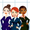 Confident Business Women Royalty Free Stock Photo