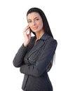 Confident businesswoman on phone Royalty Free Stock Photography