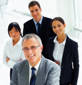 A confident and diverse group of business people Royalty Free Stock Photography