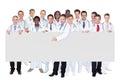 Confident Doctors Against Whit...