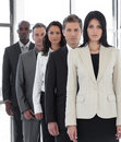 Confident Female Business leader Stock Image