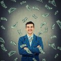 Confident rich businessman Royalty Free Stock Photo