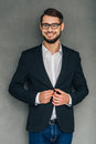 Confident smile. Royalty Free Stock Photo