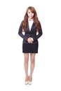 Confident young business woman standing Royalty Free Stock Photo