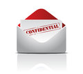 Confidential mail Royalty Free Stock Photo