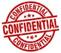 Confidential stamp Royalty Free Stock Photo