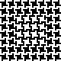 Configuration abstraite de Houndstooth Image stock