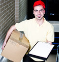 Confirm your delivery Stock Photo