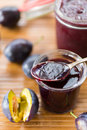Confiture de prune Photo libre de droits