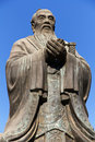 Confucius Statue in Beijing, China Royalty Free Stock Image