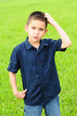 Confused kid Royalty Free Stock Photos
