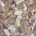 Conglomerate natural type of rock in the alps Stock Photography