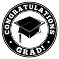 Congratulations Grad Royalty Free Stock Photo