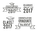 Congratulations graduate 2017, Graduation Set