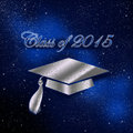 Congratulations graduates an abstract illustration on class of Royalty Free Stock Photos