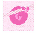 Congratulations ! its a girl Royalty Free Stock Photo