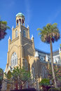 Congregation mickve israel savannah georgia usa is one of the oldest in the united states was organized by mostly sephardic jewish Royalty Free Stock Images