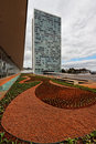 Congress Building in Brasilia Stock Photography
