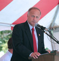 Congressman steve king r ia th speaks year old man charged with first degree murder of louise sollowin fair federation for Stock Photography