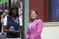 Congresswoman Mellissa Cerano at Yomo Toro street dedication Royalty Free Stock Photo