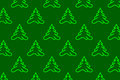 Coniferous tree - vector background