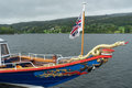 CONISTON WATER, LAKE DISTRICT/ENGLAND - AUGUST 21 : Sydney the S Royalty Free Stock Photo