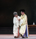 """Conjugal love the third act dragon boat festival kunqu opera""""madame white snake"""" legend of snake is one of most famous tales Stock Photos"""