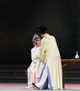 """Conjugal love the third act dragon boat festival kunqu opera""""madame white snake"""" legend of snake is one of most famous tales Royalty Free Stock Images"""